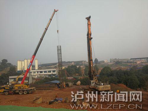 长江六桥南连接线施工加速推进(分离图)283122